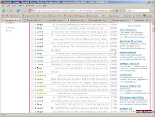 also please don't judge us based on the gmail-generated ads on the side, which I actually think are pretty fucking funny
