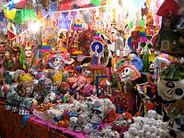 Da de los muertos decoraciones