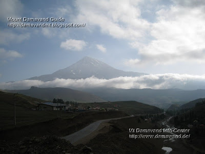 Mt Damavand, Photo by Ardeshir Soltani