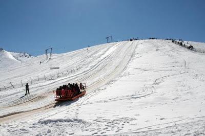 Ski Resort Ab Ali Tehran, Iran