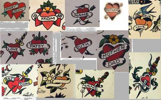 Old School Tattoo Flash 134 by ~calico1225 on deviantART. Old School Tattoos