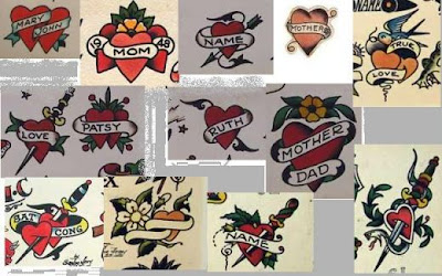 SAILOR JERRY FLASH ART Great item, framable flash sheet.