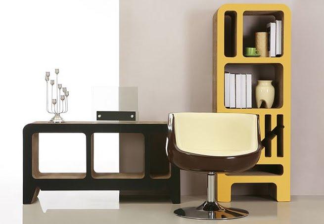 cidadania ecol gica m veis feitos de papel o. Black Bedroom Furniture Sets. Home Design Ideas
