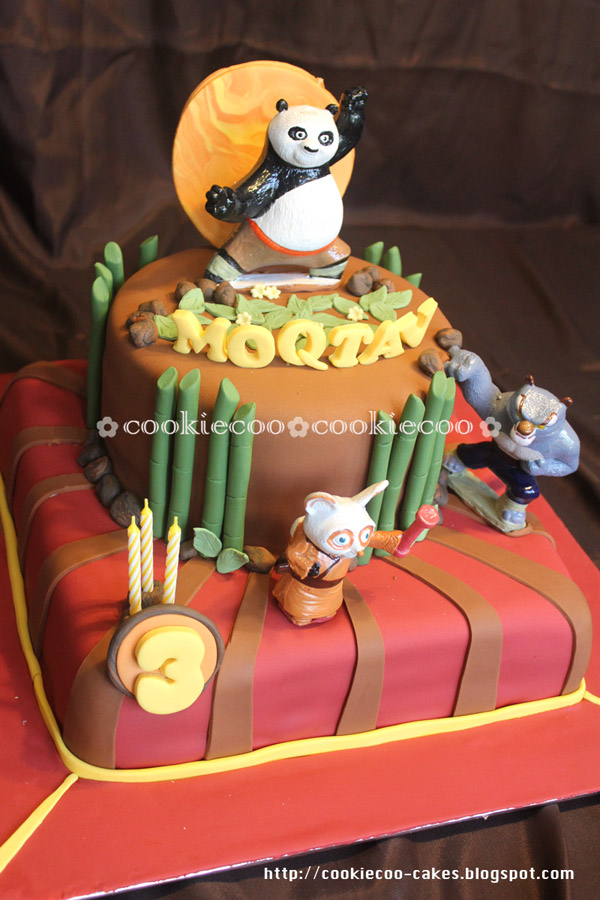 Cookiecoo Kungfu Panda Birthday Cake For Moqtav