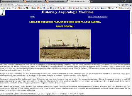 D nde puedo encontrar informaci n sobre el barco en el for Todo sobre barcos
