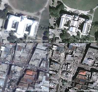 Haiti Earthquake Before And After Pictures From Google Earth
