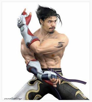 Manny Pacquiao As Jin Kazama From Tekken