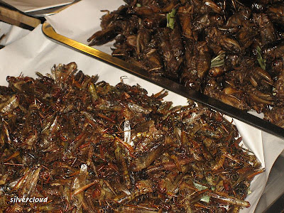 how to cook a grasshopper
