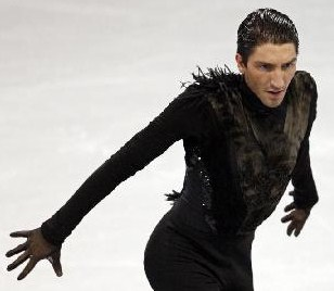 from Cedric evan lysacek gay or not