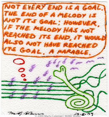 >Not Every End Is A Goal
