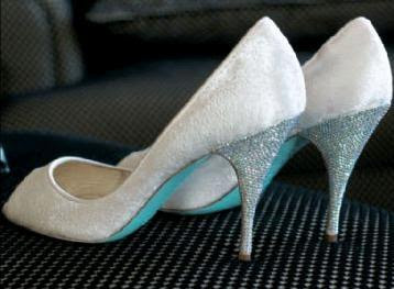 Wedding pump shoes, Christian Louboutin