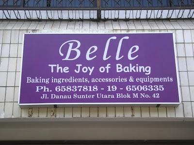 Sekarang tambah lagi 1 Toko Bahan Kue di Jakarta.