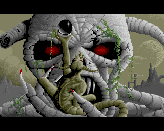 Ballistix on the Amiga - Loading Screen