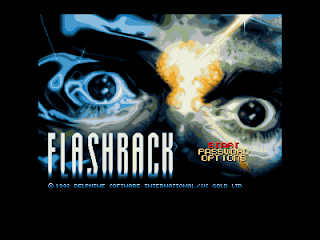 Amiga Games  Flashback  Title Screen