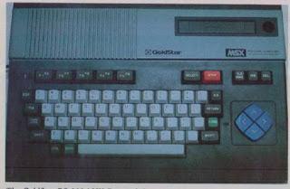 A classic MSX computer