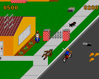 The mean streets of Paperboy on the Amiga