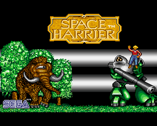Amiga Games Space Harrier