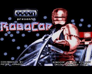 Amiga Games Robocop