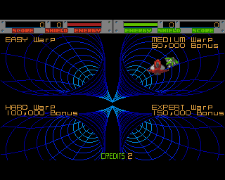 Pick your Warp Gate and Blasteroids yourself!