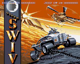 SWIV loads up on the Amiga