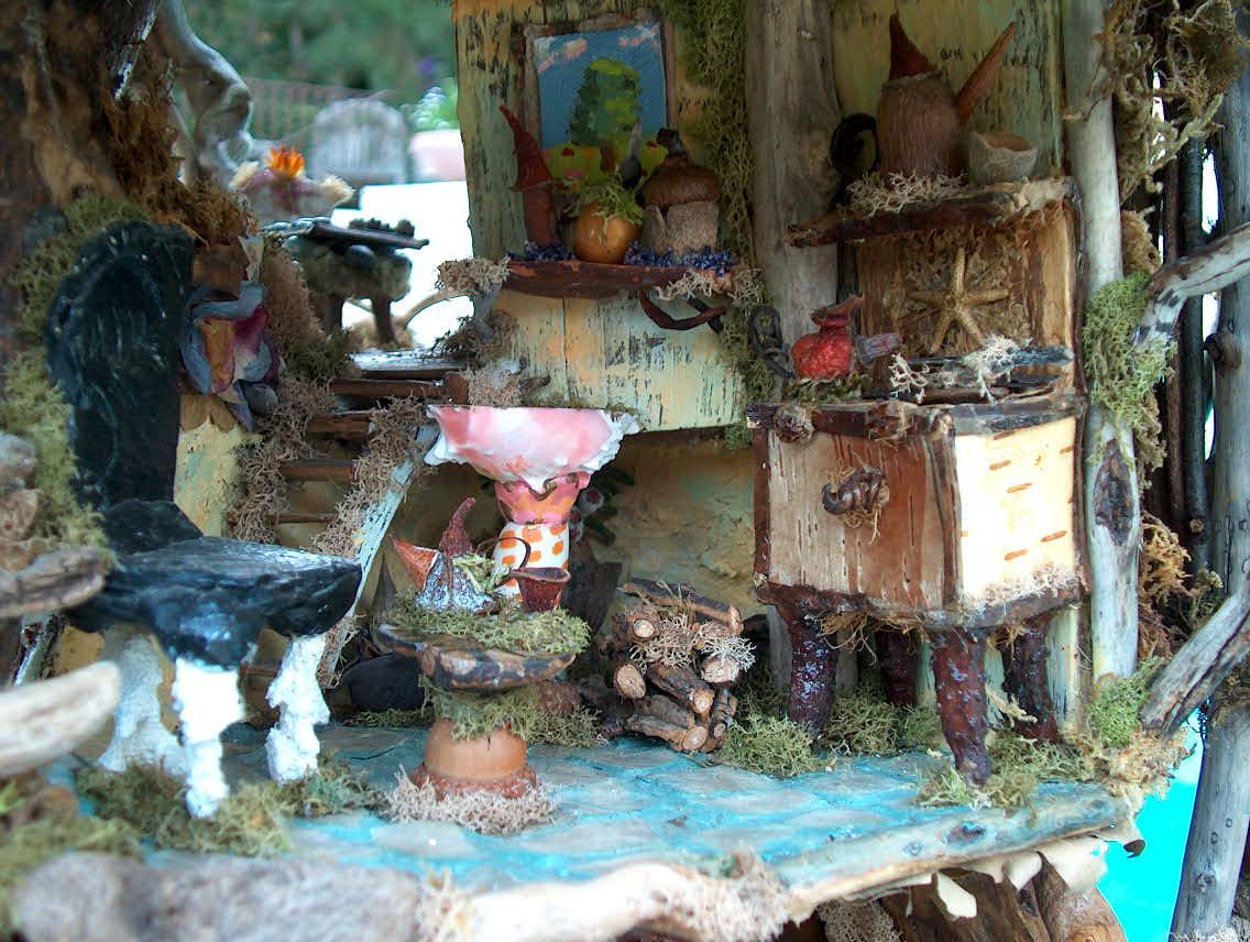 Beautiful art fairy castle more photos for Arredamento in miniatura
