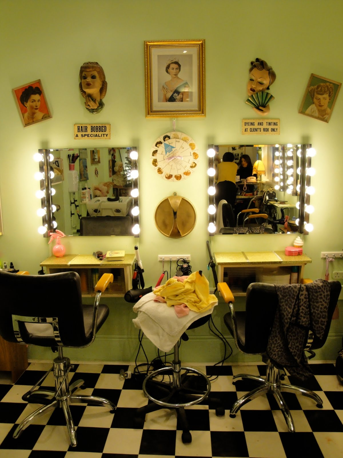 Vintage Hair Salon Ideas