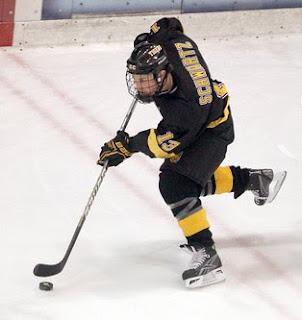 CC's Schwartz Is WCHA Rookie Of The Week