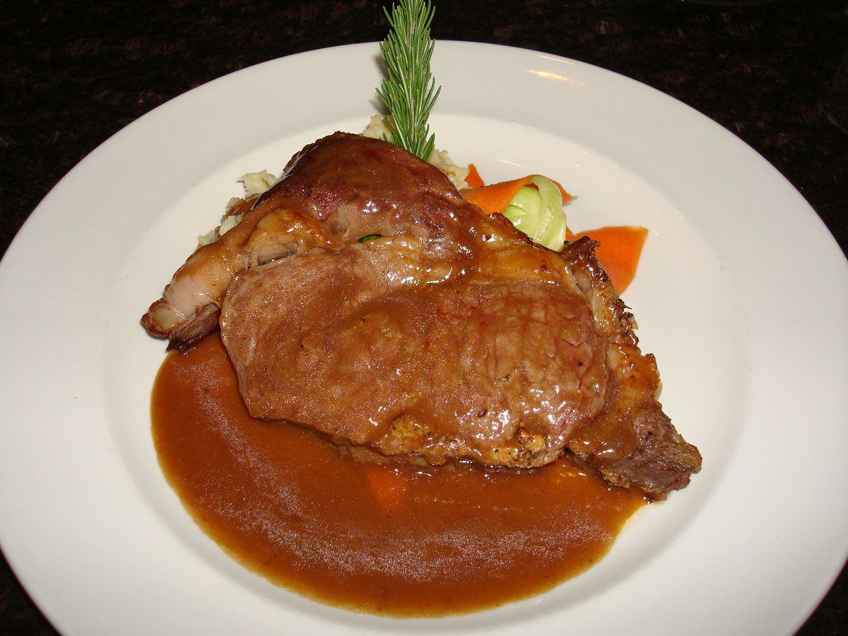... Slow Roasted Prime Rib Hand Carved and Served with Homemade Au Jus