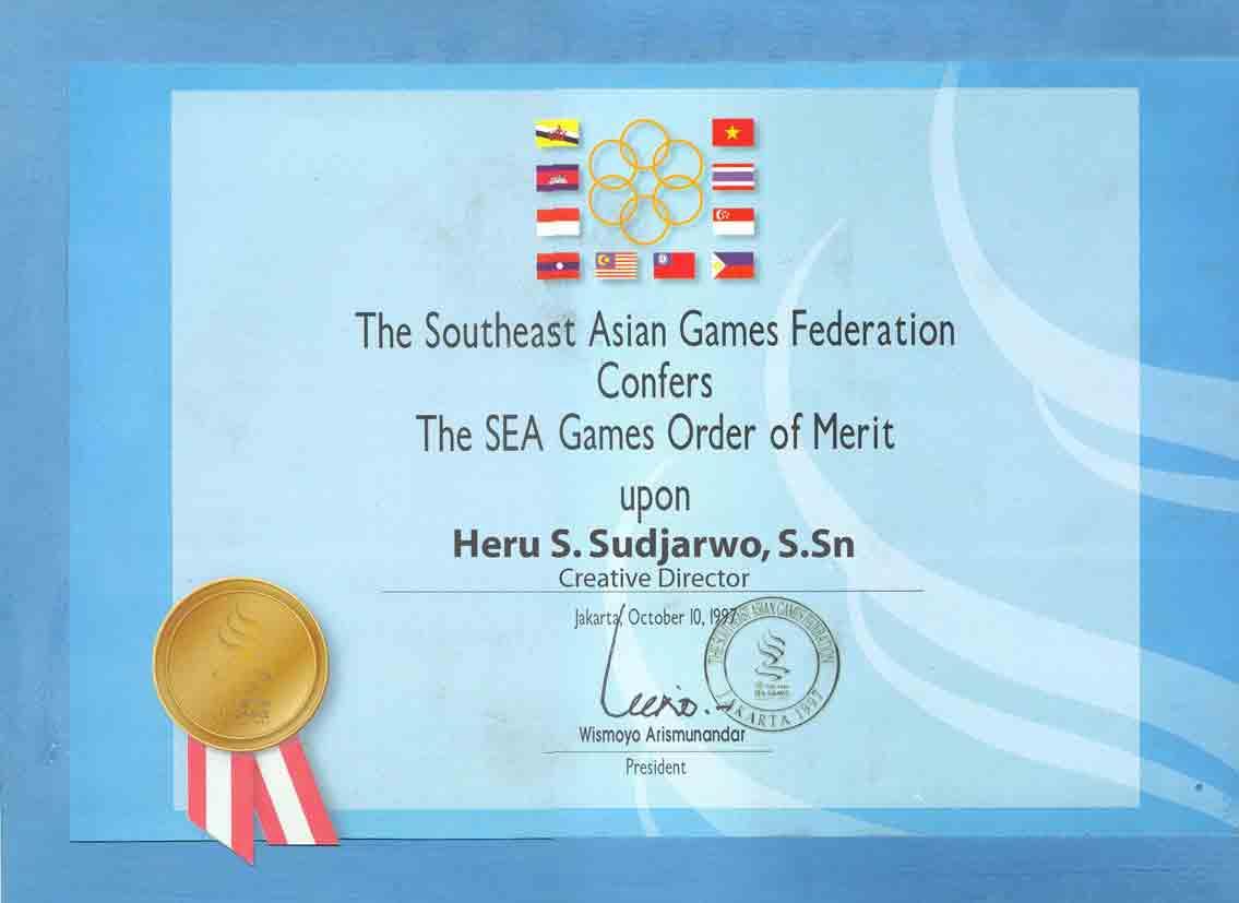 Hajatan internasional Sea Games di Jakarta beberapa tahun silam pada ...