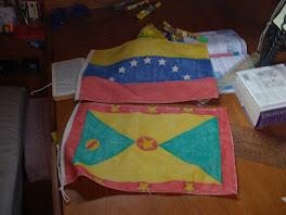 Nouveux pavillons Grenade et Venezuela