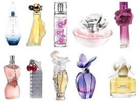 Perfumes com frascos belíssimos