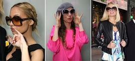 Sunglasses...Chic é o modelo Butterfly da Prada