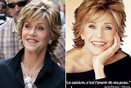 Photoshop fez milagre com a Jane Fonda