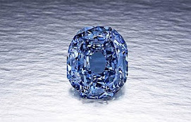 Raríssimo diamante azul ____ Wittelsbach-Graff