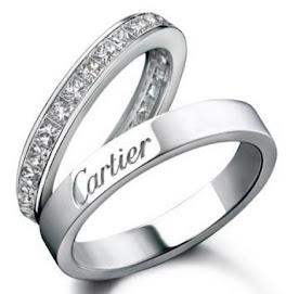 Alianças Cartier...um luxo!