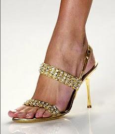 Sandalia para Cinderela nenhuma botar defeito!!!