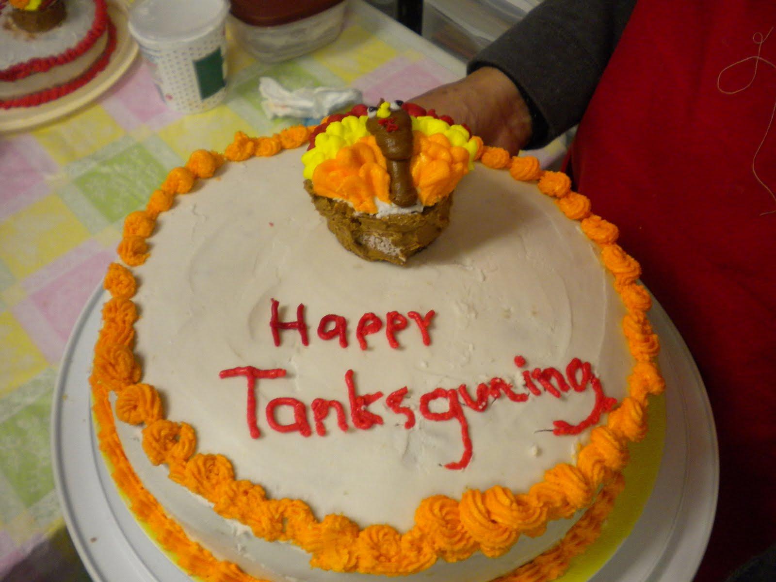 Creatividades Latinas: Ideas Pastel o queque de Accion de Gracias