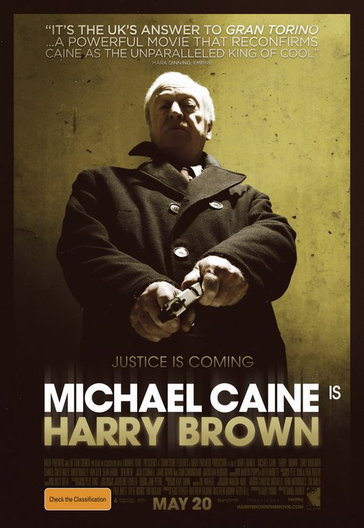 harry brown review There is a scene in harry brown when the titular pensioner and war veteran has had enough of all the hoodie-hoodlums terrorizing his run-down neighborhood that he goes to buy some fire-arms and.