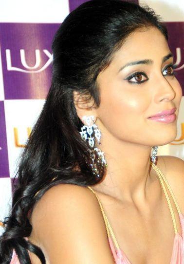 shriya in shriya at lux promotional event actress pics