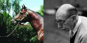 Stravinsky, horse and Igor