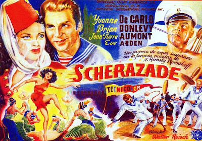 Song of Scheherazade poster