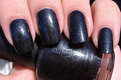 opi baby its coal outside nail polish