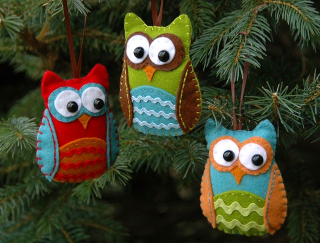 Christmas Crafts - Felt Ornaments - Dot Com Women - Fashion