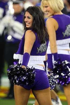 Sports Illustrated, TCU, Ft. Worth, Sarah Tajvar,  Cheerleader,  Cheerleading, College Cheerleading, College Football, National American Miss, NAmiss, Is National American Miss a scam?