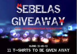MR N MS RED RIBBON TEE SHIRT GIVEAWAY