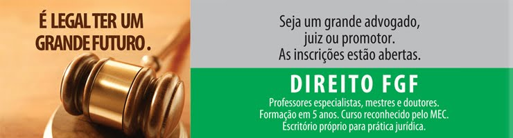 Blog do Curso de Direito FGF