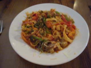 Freemason Abbey dish Vegetable Fettucine