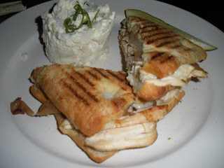 456 Fish dish Chicken Panini