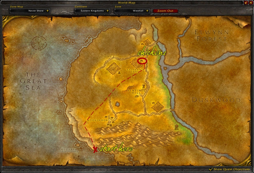 Chickens For Horde How To Get A Westfall Chicken If You