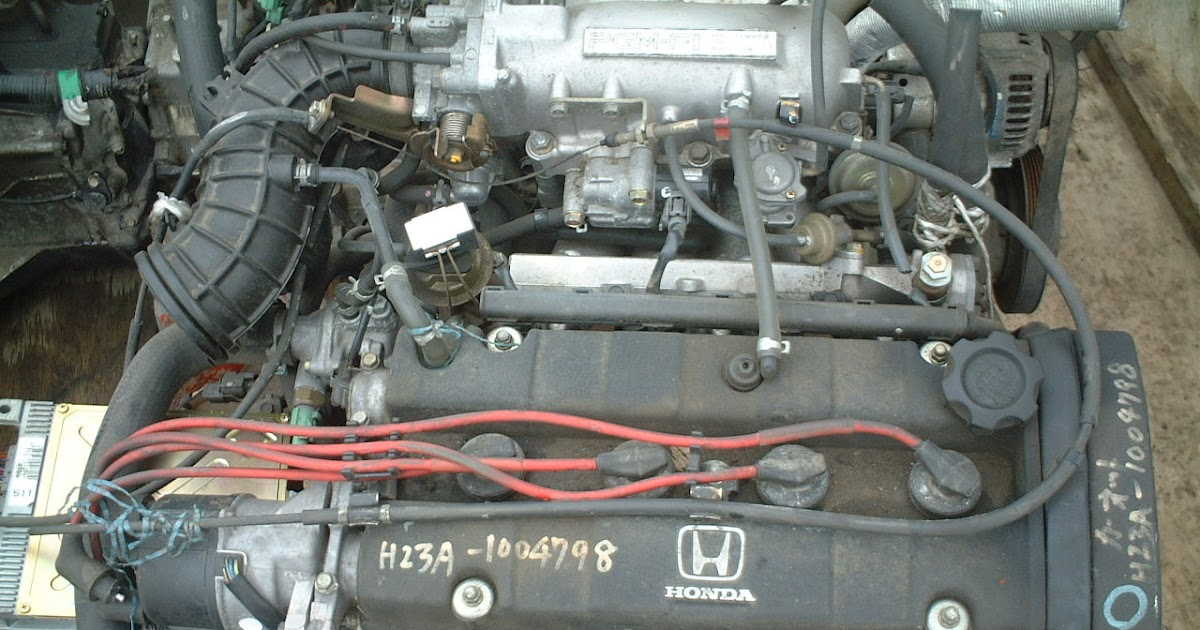 Japanese Used Engine And Spare Part H23a Used Japanese
